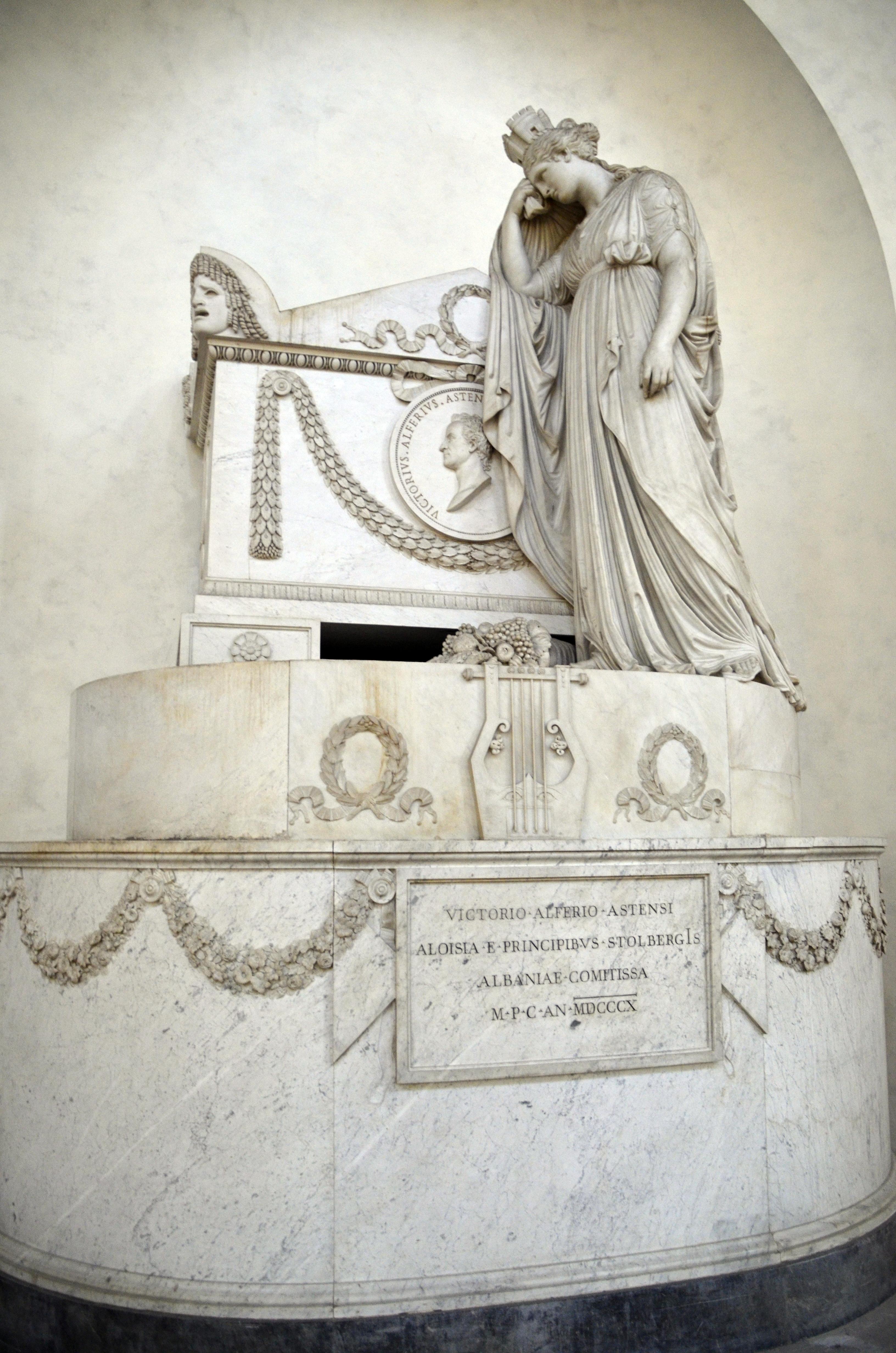 Santa Croce: monumento funebre di Vittorio Alfieri