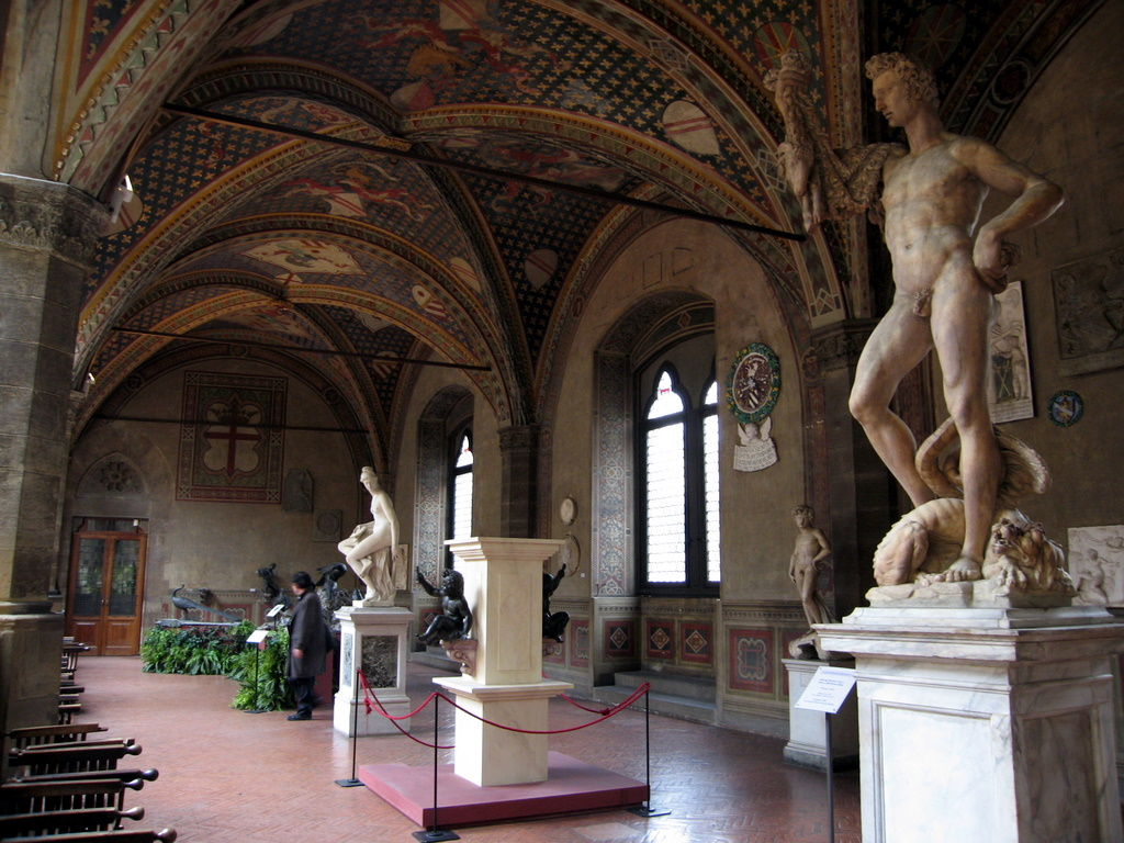 Museo del Bargello (Firenze) - Cortile interno