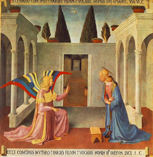 Annunciazione di Beato Angelico (Museo di San Marco, Firenze)
