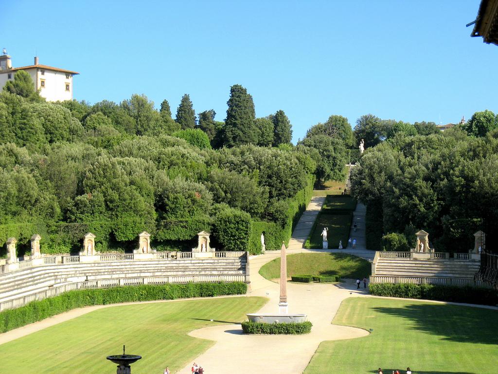 Giardino di boboli firenze prezzi orari ingresso storia e descrizione - I giardini di palazzo rucellai ...