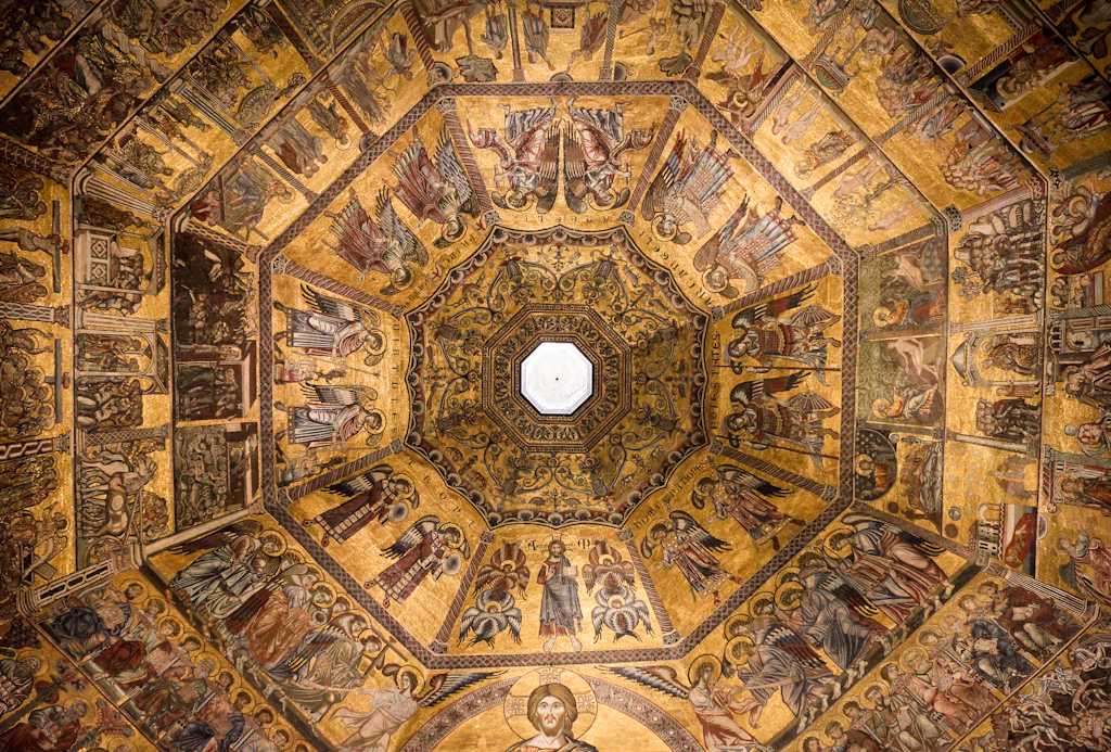 I mosaici della cupola del Battistero di Firenze