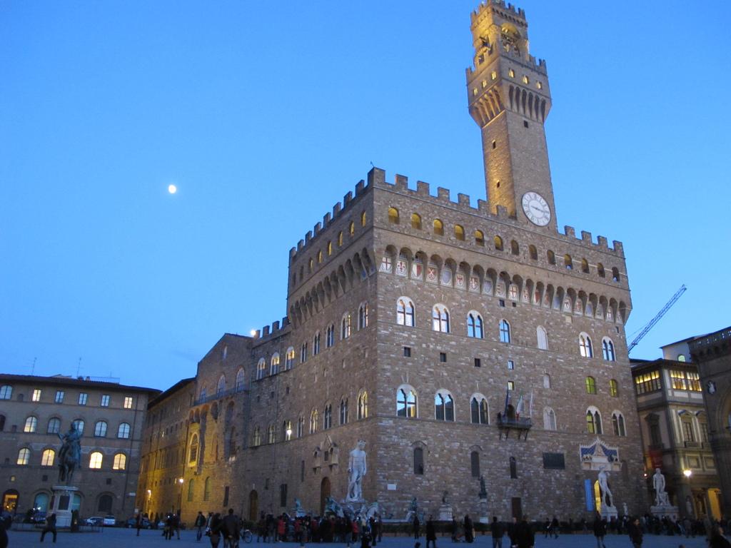 Facciata di Palazzo Vecchio