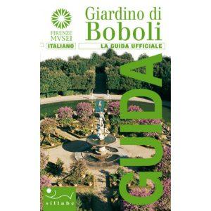 """Copertina del libro """"Giardino di Boboli. La guida ufficiale"""" (Sillabe)"""