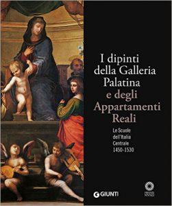 """Copertina del libro """"I dipinti della Galleria Palatina"""" (Giunti Editore)"""