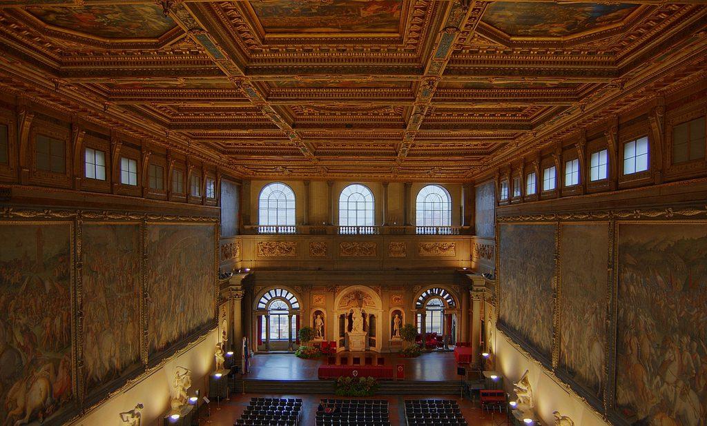 Salone dei Cinquecento - Palazzo Vecchio (Firenze)