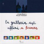 """Copertina del libro """"La Galleria degli Uffizi a Firenze"""" (Sillabe)"""
